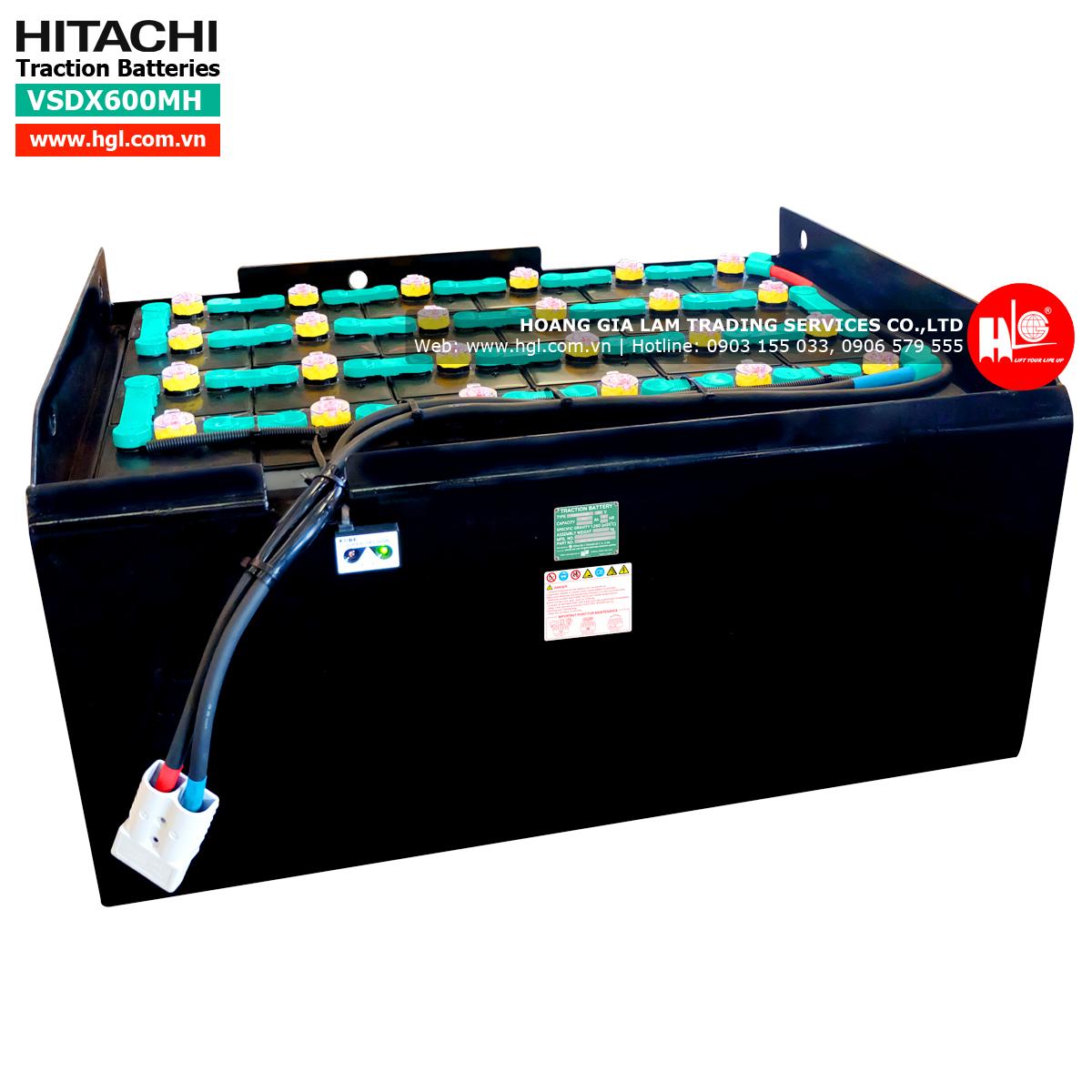 Ác quy Hitachi dành cho xe nâng